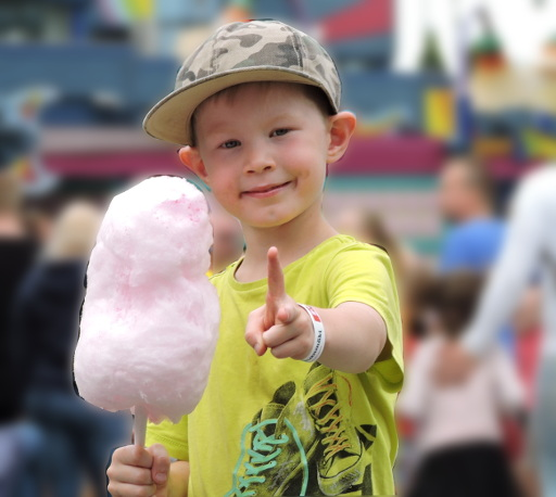 Happy writing - think cotton candy!